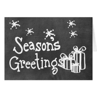 Chalkboard Wallies Holiday Note Cards