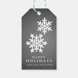 Chalkeboard Happy Holidays Gift Tags | CHRISTMAS Pack Of Gift Tags