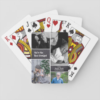 Chalked, Photo Collage Collage, vertical Playing Cards