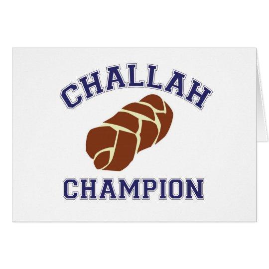 Challah Baker Card