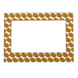 Challah Bread Happy Hanukkah Chanukah Holiday Magnetic Picture Frame