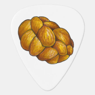 Challah Bread Loaf Jewish Holidays Food Foodie Guitar Pick