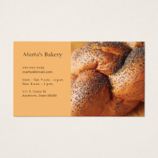 Challah Business Card