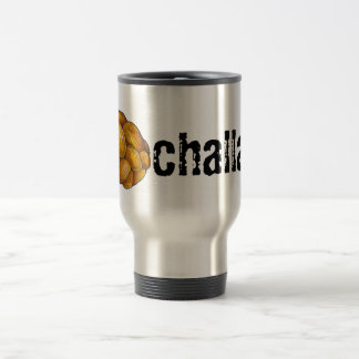 Challah Hanukkah Jewish Holiday Braided Bread Loaf Travel Mug
