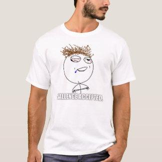 Challenge Accepted Drunk Shirt