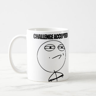 Challenge Accepted Coffee Mugs