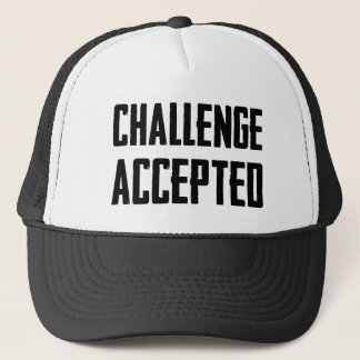 Challenge Accepted Trucker Hat