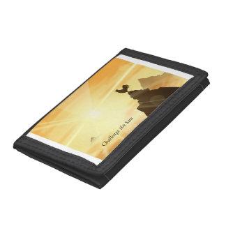 Challenge the Sun Tri-fold Wallet