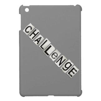 Challenge word concept. iPad mini covers