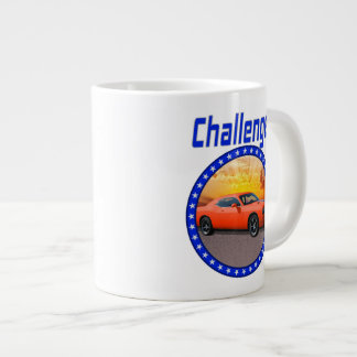 Challenger Red Giant Coffee Mug