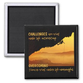 CHALLENGES magnet