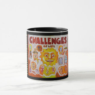 Challenges of life - Mood Mug