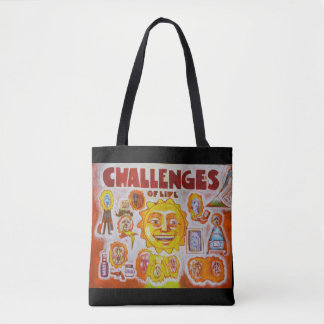 Challenges of life - Mood Mug Tote Bag