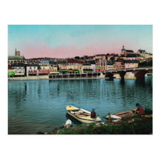 Chalons sur Saone waterfront Postcards