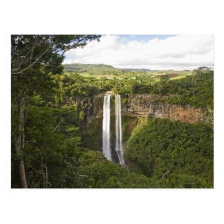 Chamarel Waterfall-highest on Mauritius, over 2 Postcard