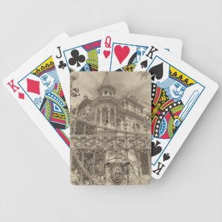Chamas Villa Final Bicycle Playing Cards