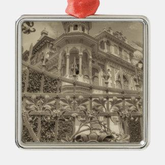 Chamas Villa Final Metal Ornament