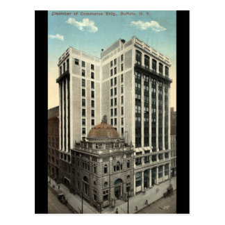 Chamber of Commerce Bldg Buffalo NY 1915 Vintage Postcard