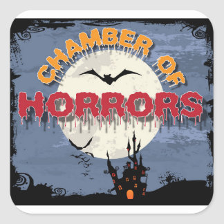 Chamber of Horrors stickers