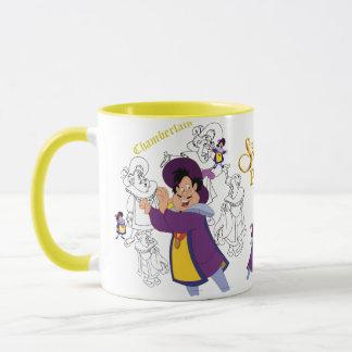Chamberlain Sketch Mug with Colored Rim&Handle