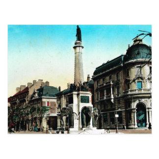Chambery, Fountain of the Elephants Postcard