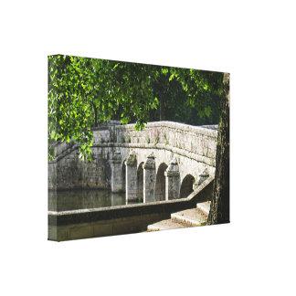 Chambord Bridge Canvas Print