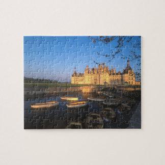 Chambord Chateau, Loire Valley, Loir-et-Cher, Jigsaw Puzzle