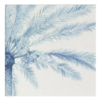 Chambray Palms II Acrylic Print
