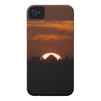 Chambre du Sun en baisse Coque iPhone 4