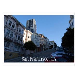 Chambres sur une rue à San Francisco, la Cartes Postales