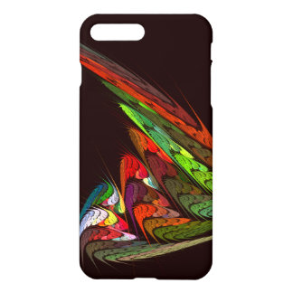 Chameleon Abstract Art Glossy iPhone 7 Plus Case