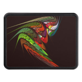 Chameleon Abstract Art Hitch Cover