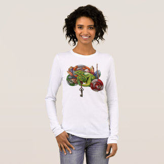 chameleon and crystals long sleeve T-Shirt