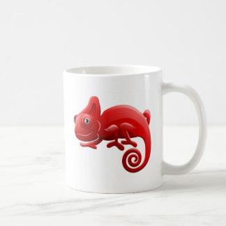 Chameleon Animal Cartoon Character Coffee Mug