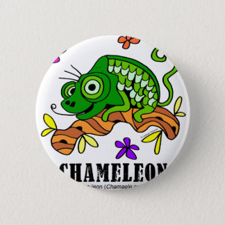 Chameleon by Lorenzo © 2018 Lorenzo Traverso 2 Inch Round Button