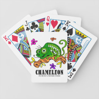 Chameleon by Lorenzo © 2018 Lorenzo Traverso Bicycle Playing Cards
