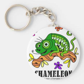 Chameleon by Lorenzo © 2018 Lorenzo Traverso Keychain