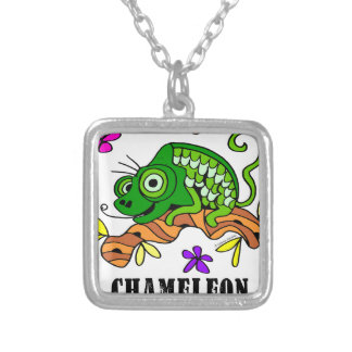 Chameleon by Lorenzo © 2018 Lorenzo Traverso Silver Plated Necklace