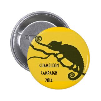 Chameleon Campain 2014 Pin