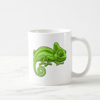 Chameleon Cartoon Character Coffee Mug