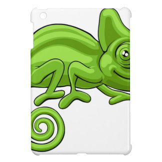Chameleon Cartoon Character iPad Mini Cover