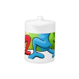 Chameleon Cartoon Rainbow Character