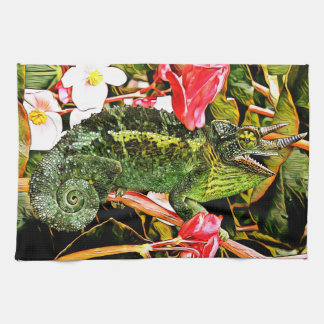 Chameleon Charisma Kitchen Towel