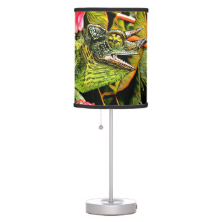 Chameleon Charisma Table Lamp