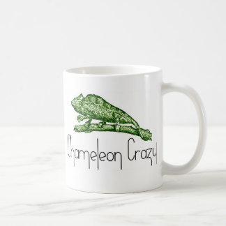 Chameleon Crazy Coffee Mug