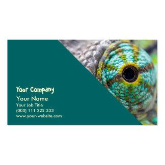 Chameleon eye pack of standard business cards