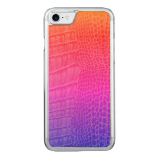 Chameleon Lizard Chameleon Reptile Kawaii Gecko Carved iPhone 8/7 Case