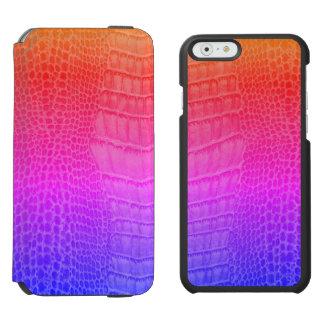 Chameleon Lizard Chameleon Reptile Kawaii Gecko Incipio Watson™ iPhone 6 Wallet Case