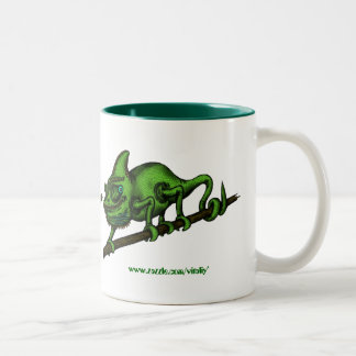 Chameleon mug design