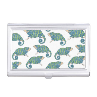 Chameleon Pattern Case For Business Cards